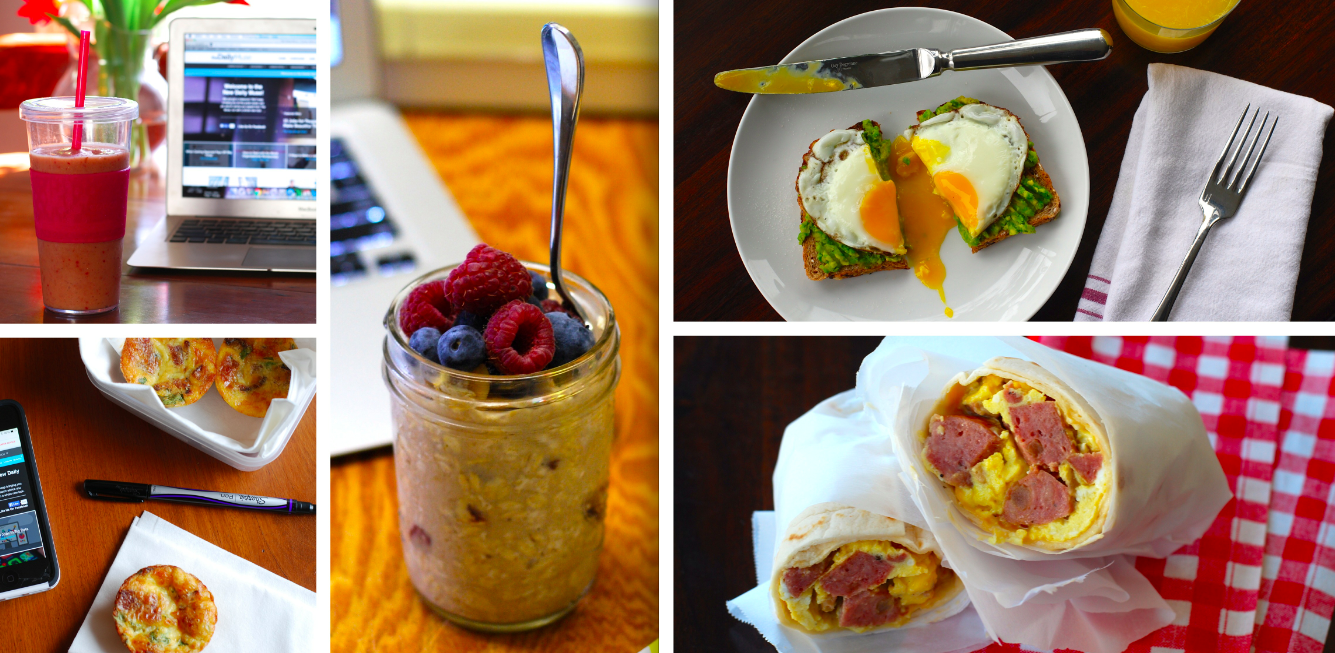 5 Quick, Healthy Breakfasts That Will Upgrade Your Morning