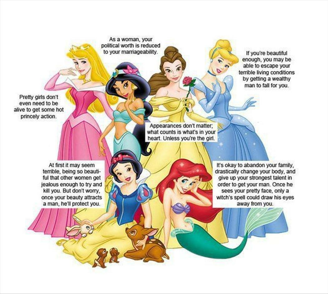 What We Weren't Supposed to Learn From Disney Princesses