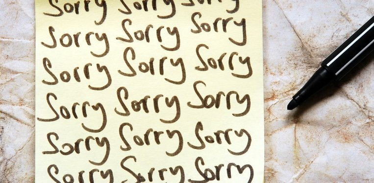 Here's the Big Secret to Convincing Someone That You Truly Are Sorry