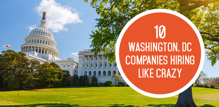 10 DC Companies Hiring Like Crazy in September