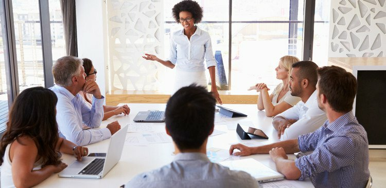 How to Successfully Present to a Higher-up at Work (Without Freaking Out)