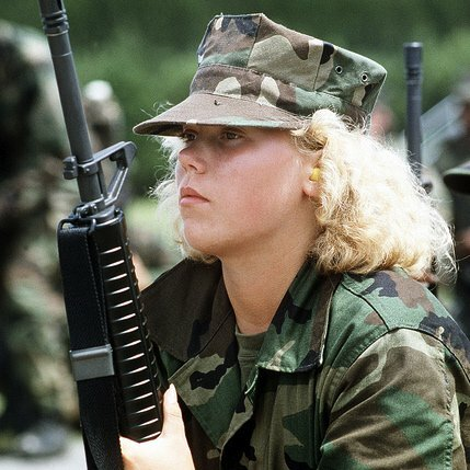 Women in the Military: Why Can't We Serve on the Front Lines?