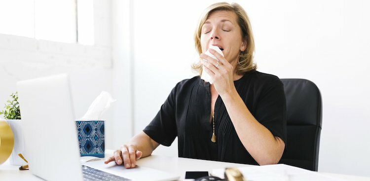 10 Ways to Get Well (and Stay Well) When It's Flu Season and You Have to Go to an Office