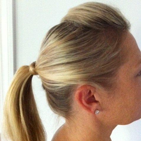 The Easiest Work Hairstyle—Ever