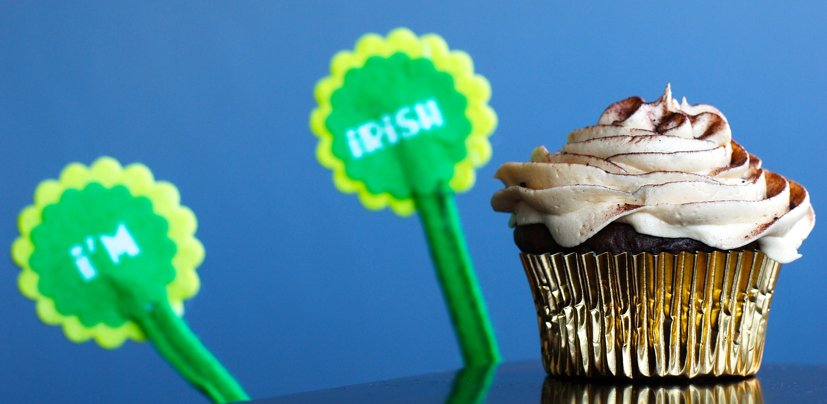 Make This Weekend! Guinness Cupcakes with Whiskey Frosting