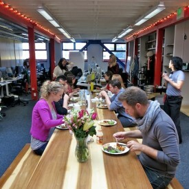 7 Ways to Build Company Culture With Food