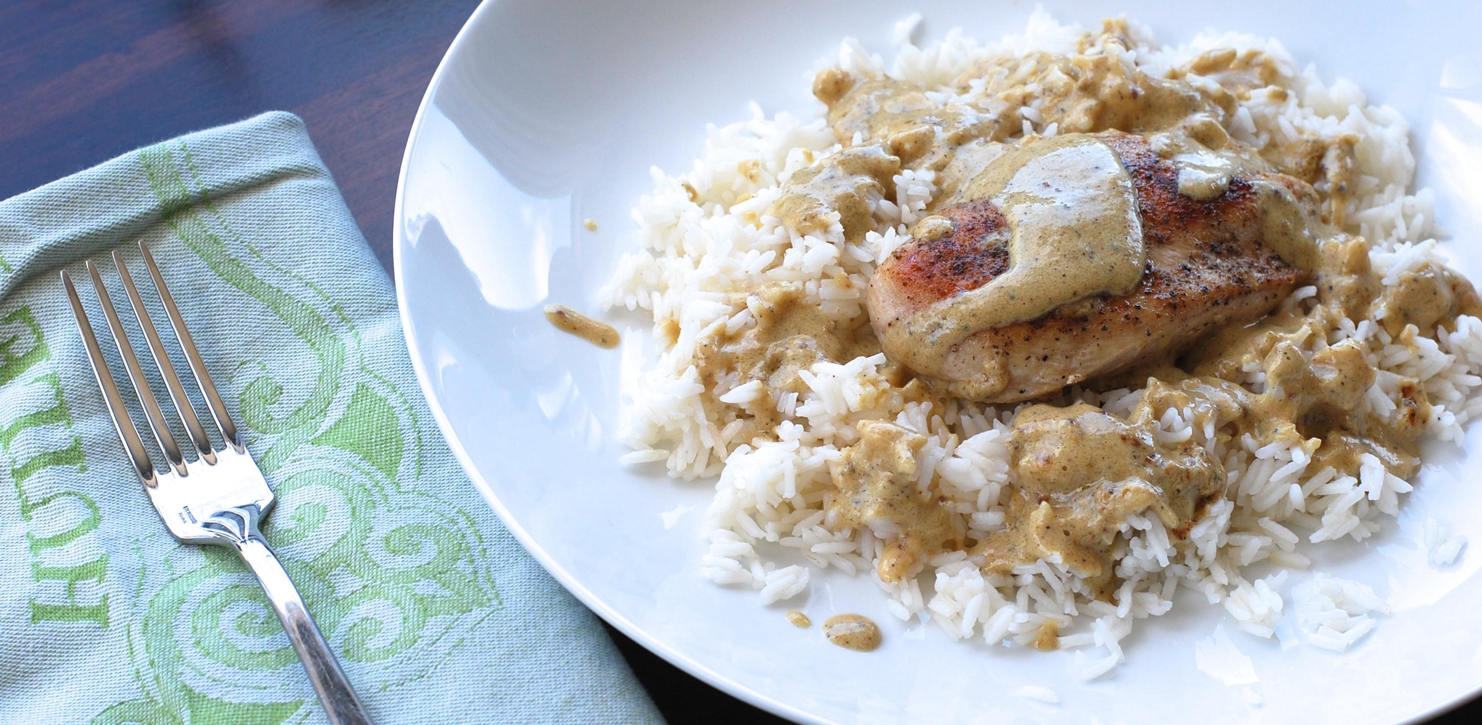 Your Easy Weeknight Dinner Plan: Creamy Mustard Chicken