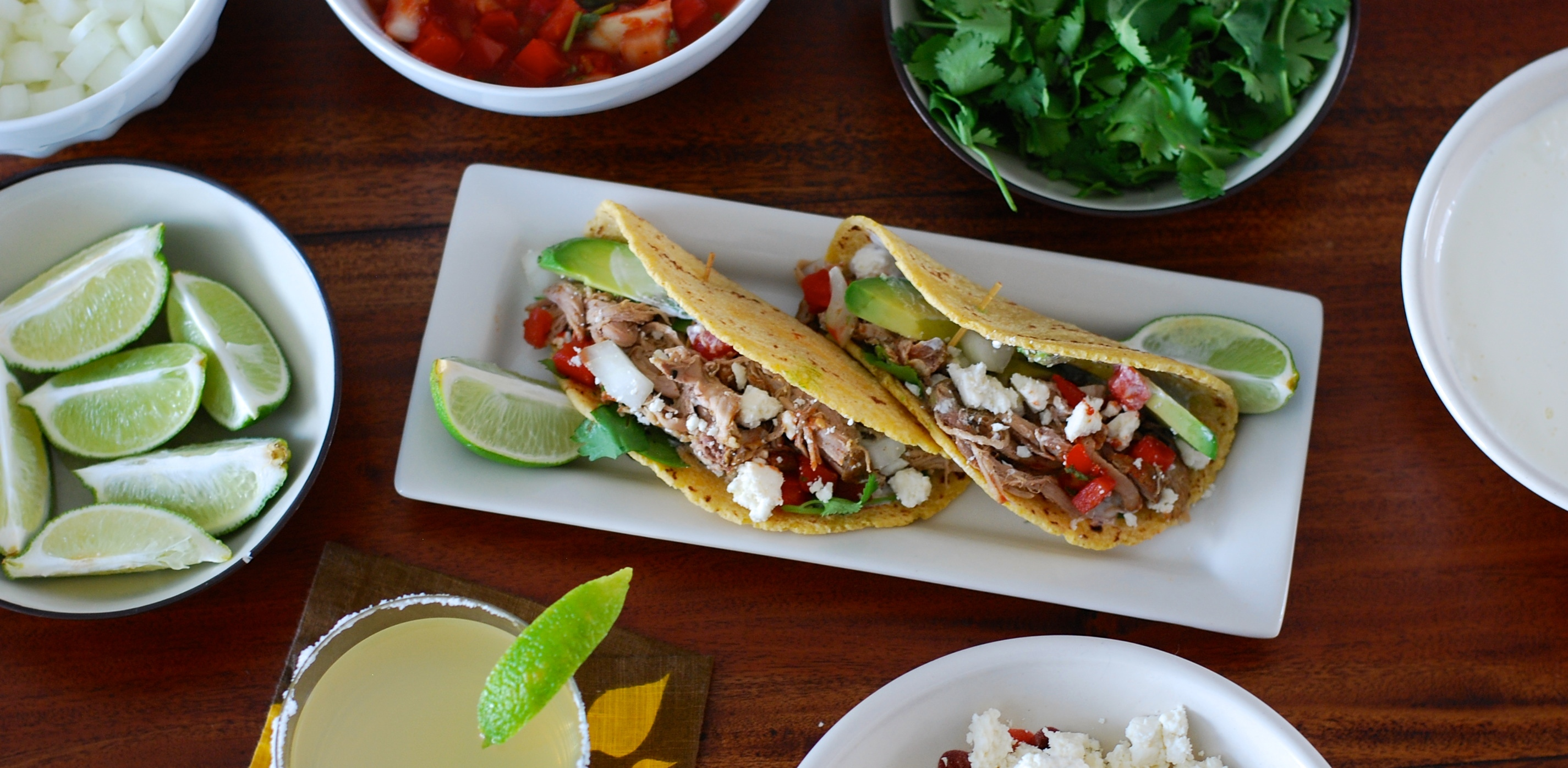 Make This Weekend: Slow Cooker Pulled Pork Tacos