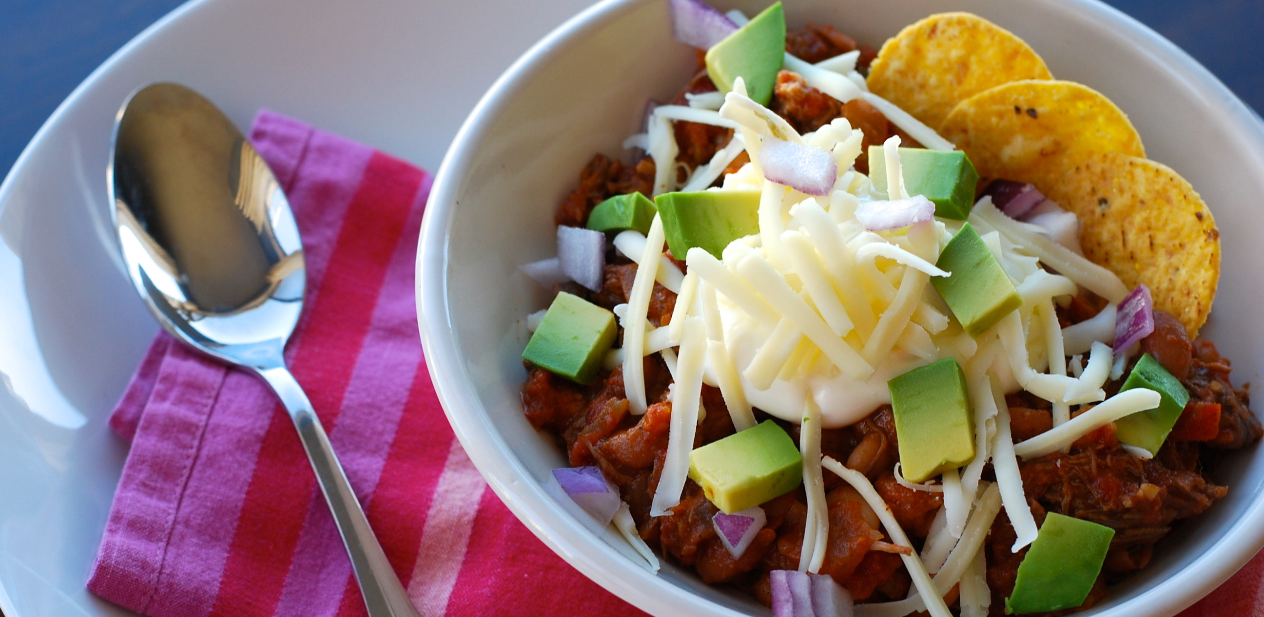 Your Winter Warmup: Slow Cooker Shredded Beef Chili