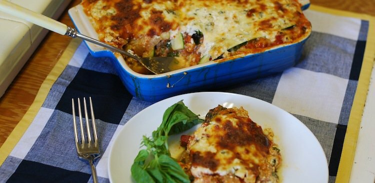 Make This Weekend: The Healthiest Lasagna Ever