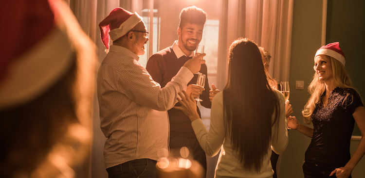 An Office Holiday Party Survival Guide for Introverts and Shy People