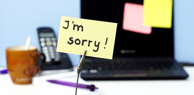 Why Over-Apologizing Could Make You Sorry