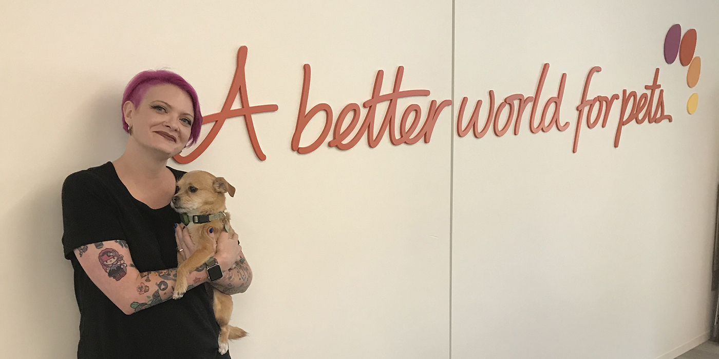 How This Designer, Pet Lover, and LGBTQ Advocate Found a Workplace That Welcomed Her Whole Self