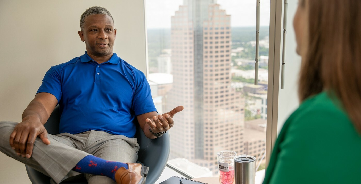 This DE&I Leader is Making His Mark at a Small Investment Firm