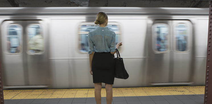 I Landed My Magazine Job After Meeting the Editor-in-Chief on a Subway Platform
