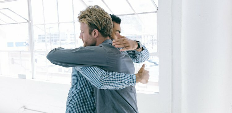 Your Foolproof Guide to Hugging at Work (Because it Can Get Awkward)