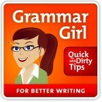 Grammar Girl Mignon Fogarty of Quick and Dirty Tips